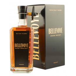 Виски Bellevoye Peated Edition 0,7л 43% черная коробка