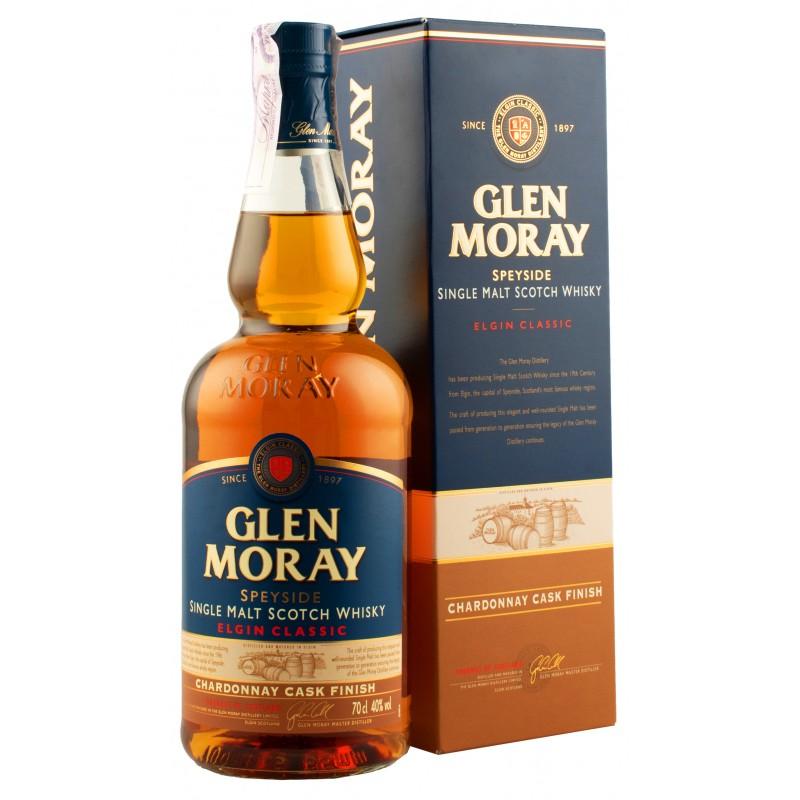 Віскі Glen Moray Chardonnay 0,7л у коробці