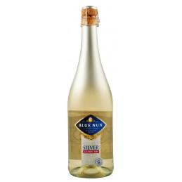 """Вино безалкогольне ігристе """"Silver Sparkling"""" біле нпів солодке 0,75л ТМ Blue Nun"""