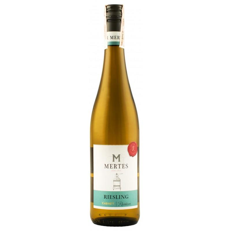 "Вино ""Riesling RHH Kabinett Halbtrocken"" ТМ ""Mertes"""