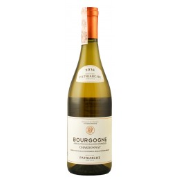 "Вино ""Bourgogne Chardonnay"" 0.75л ТМ ""Patriarche"""