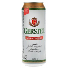 """Пиво світле безалкогольне """"Gerstel"""" 0,5л ТМ """"Gerstel"""""""