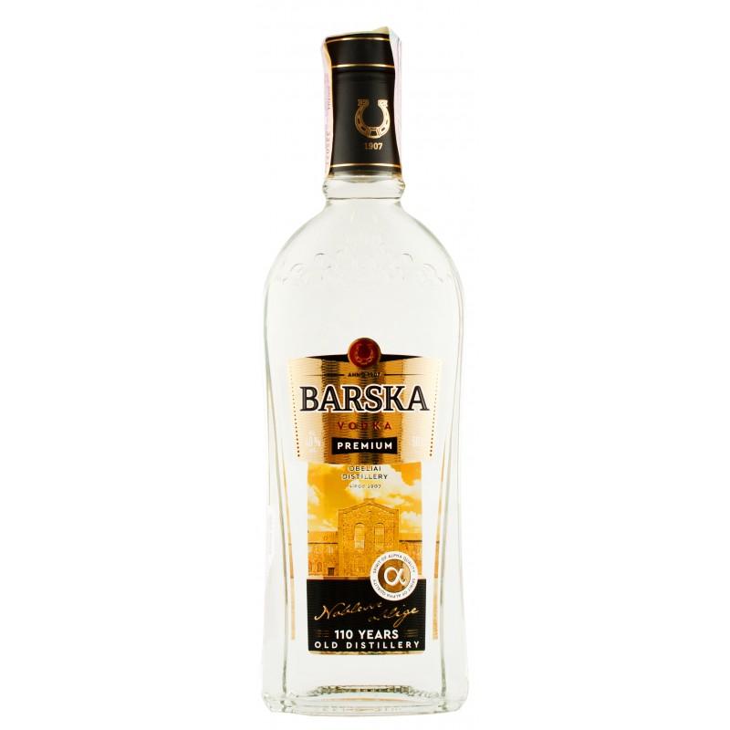 "Водка ""Barska Premium"" 0.5л  ТМ ""Barska"""