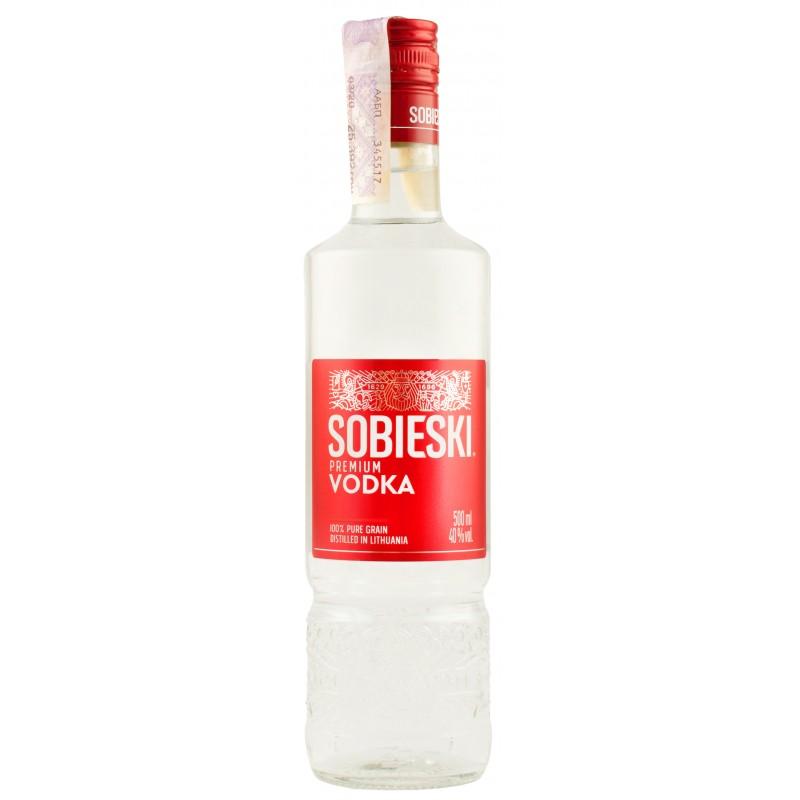 """Водка """"Sobieski Premium"""" 0.5л ТМ """"Sobieski"""""""