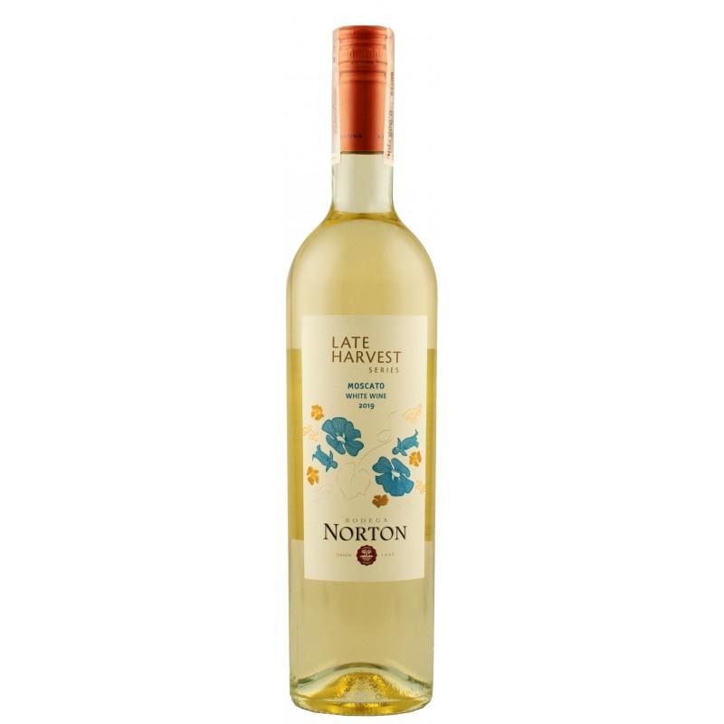 """Вино урожая позднего сбора """"Moscato"""" 0,75л ТМ """"Norton"""""""