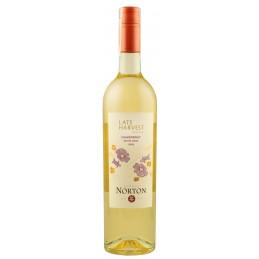 """Вино урожаю пізнього збору""""Chardonnay"""" ТМ """"Norton"""" 0,75л"""