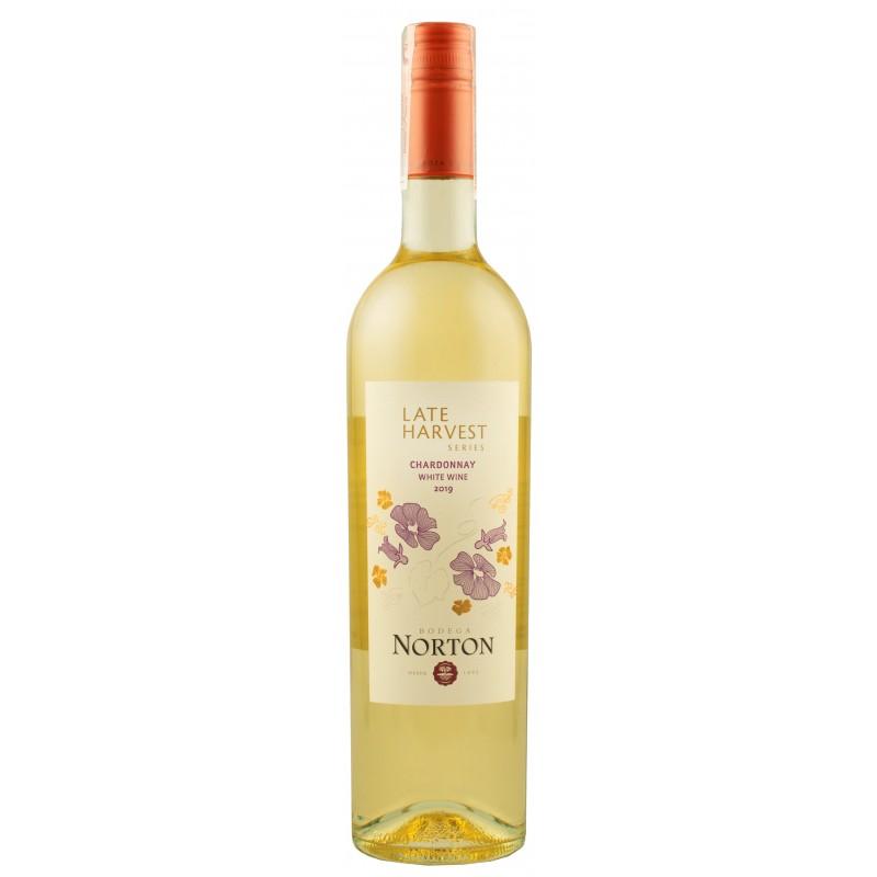 """Вино урожая позднего сбора """"Chardonnay"""" ТМ """"Norton"""" 0,75л"""
