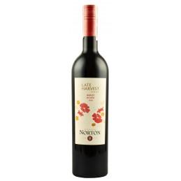 """Вино урожаю пізнього збору""""Merlot"""" 0.75л ТМ """"Norton"""""""
