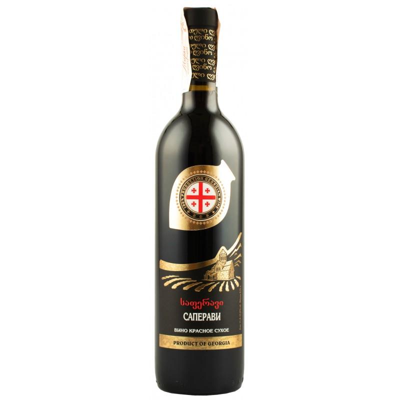 Купить Вино Саперави красное сухое