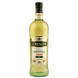 "Вермут белый ""LORENZINI"" сух 1л 15% (Италия, Турин, ТМ ""Sperone"")"
