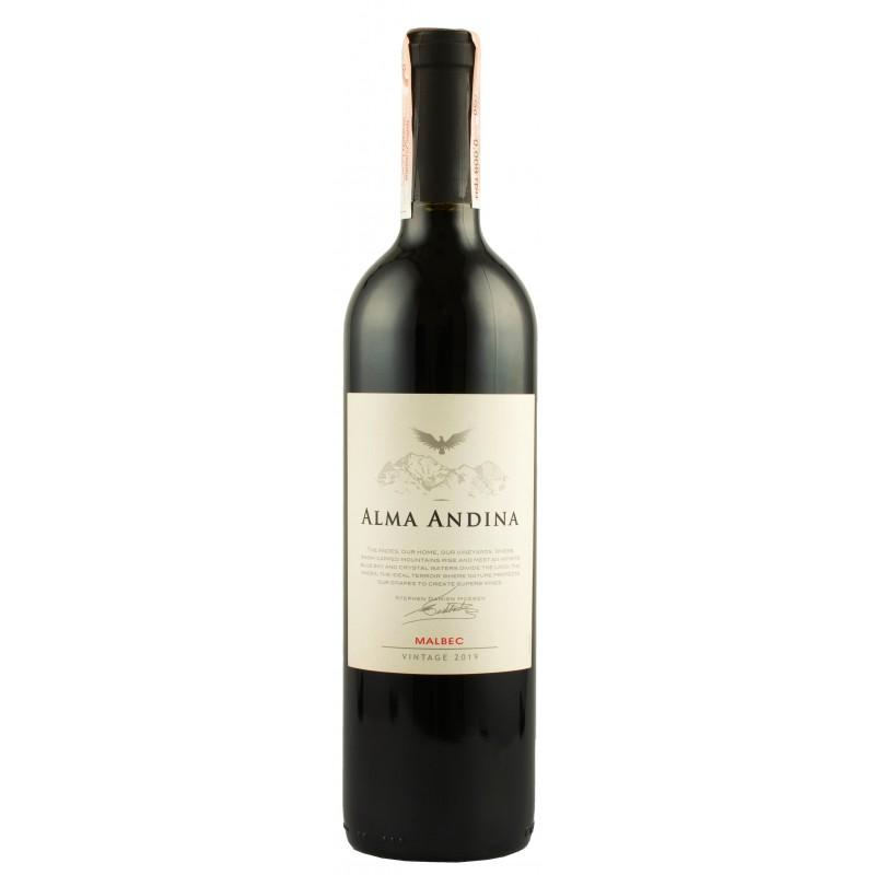 """Вино """"Malbec Alma Andina"""" 0.75л ТМ """"Alma Andina"""""""