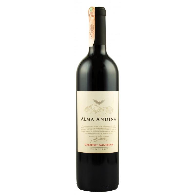 """Вино """"Cabernet Sauvignon Alma Andina"""" 0.75л ТМ """"Alma Andina"""""""