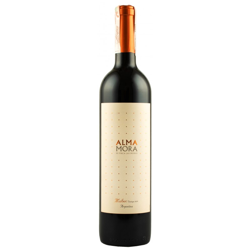 "Вино ""Malbec Alma Mora"" 0,75л ТМ ""Alma Mora"""