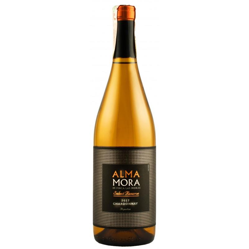 """Вино """"Chardonnay Select Rve"""" 0,75л ТМ """"Alma Mora"""""""