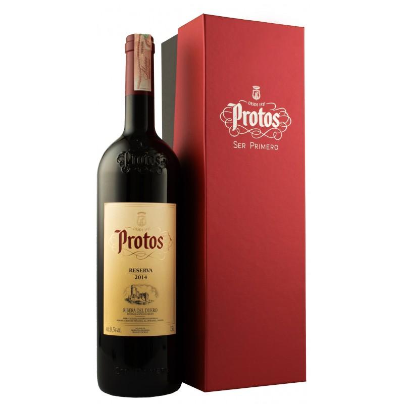 Купить Вино Protos Reserva 1,5л красное сухое в коробке