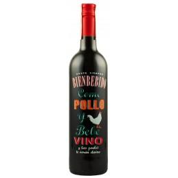 """Вино """"Pollo"""" червоне сухе 0,75л 14% (Іспанія, Ріоха, ТМ """"Bienbebido"""")"""