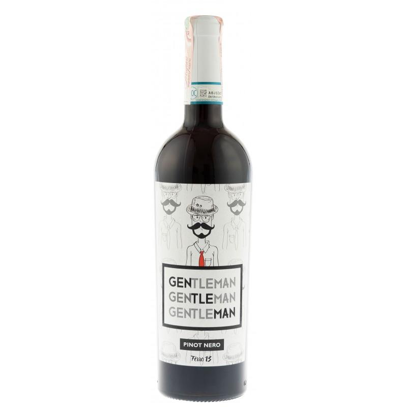 "Вино ""Gentleman Pinot Nero DOC"" кр.сух 0,75л 12,5% (Италия, Ломбардия,ТМ ""Ferro13"")"