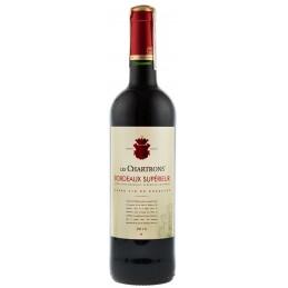 """Вино """"Bordeaux Superieur Rouge"""" 0,75л ТМ """"Les Chartrons"""""""