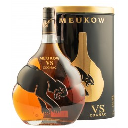 "Коньяк ""Meukow VS"" 0.7л (у тубусі) ТМ ""Meukow"""