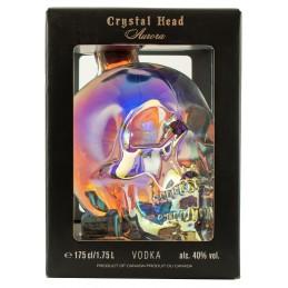 Купить водку кристал хед на подарок 1.75 череп
