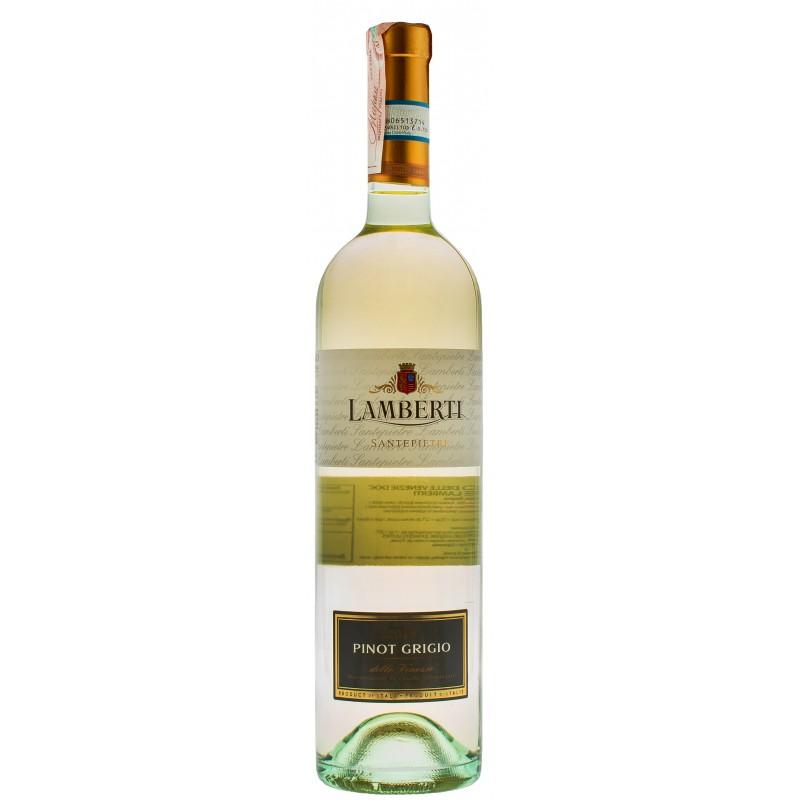 Купити Вино Pinot Grigio Santepietre DOC біле сухе Lamberti