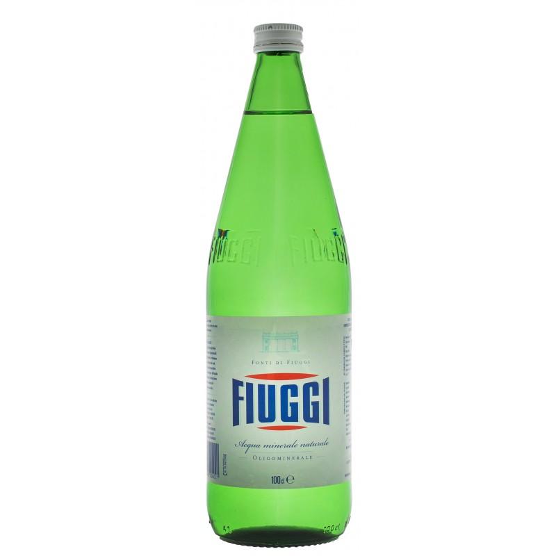 Купити Мінеральна вода не газована Fiuggi Naturale 1л скло