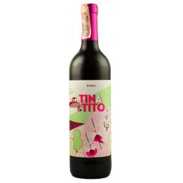 Вино Tina&Tito червоне сухе