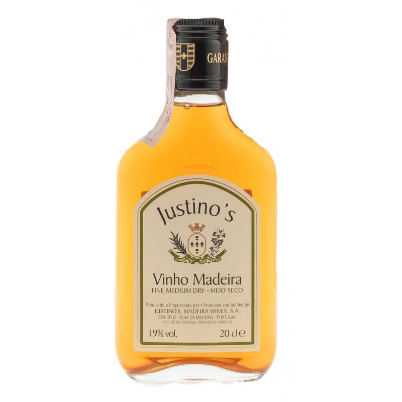 Купить Вино Justinos Madeira Fine Medium Dry 3yo біле напівсухе 0,2л
