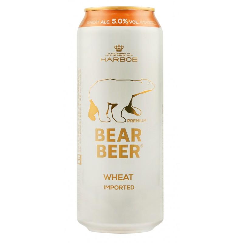 Купити Пиво світле пшеничне Beаr Beer Wheat 0.5л з/б