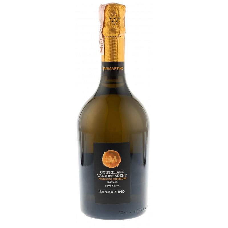 Купити Вино ігристе Prosecco Superior Valdob. DOCG біле екстра сухе 0,75л Sanmartino