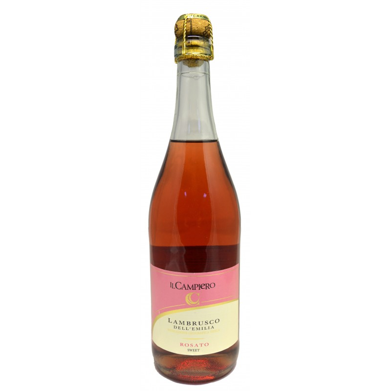 Купить Вино игристое Lambrusco Campiero Rosato