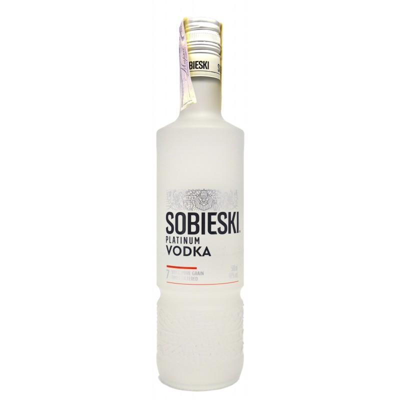 Купить Водка Sobieski Platinum 0.5л
