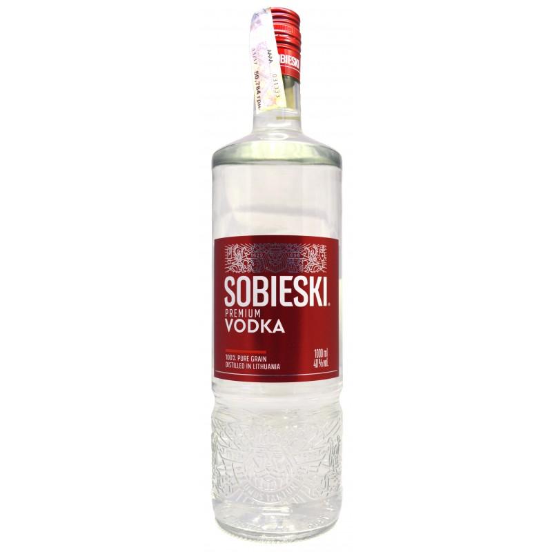 Водка Sobieski Premium 1.0л