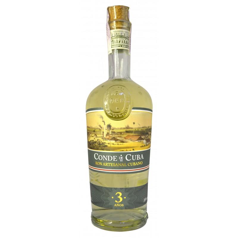 Купить Ром Conde de Cuba 3YO 0,7л