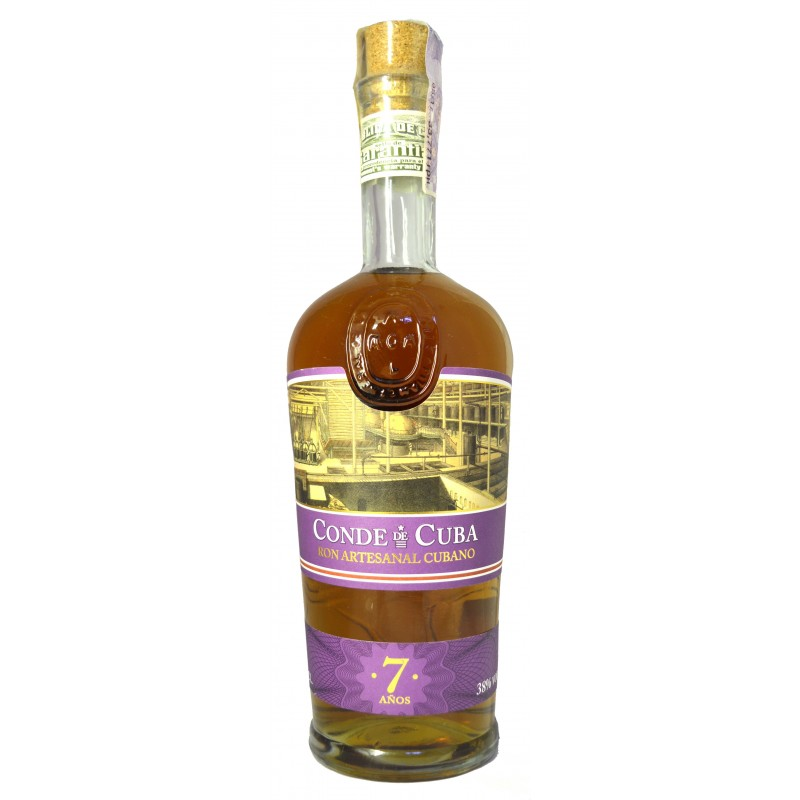 Купить Ром Conde de Cuba 7YO 0.7л