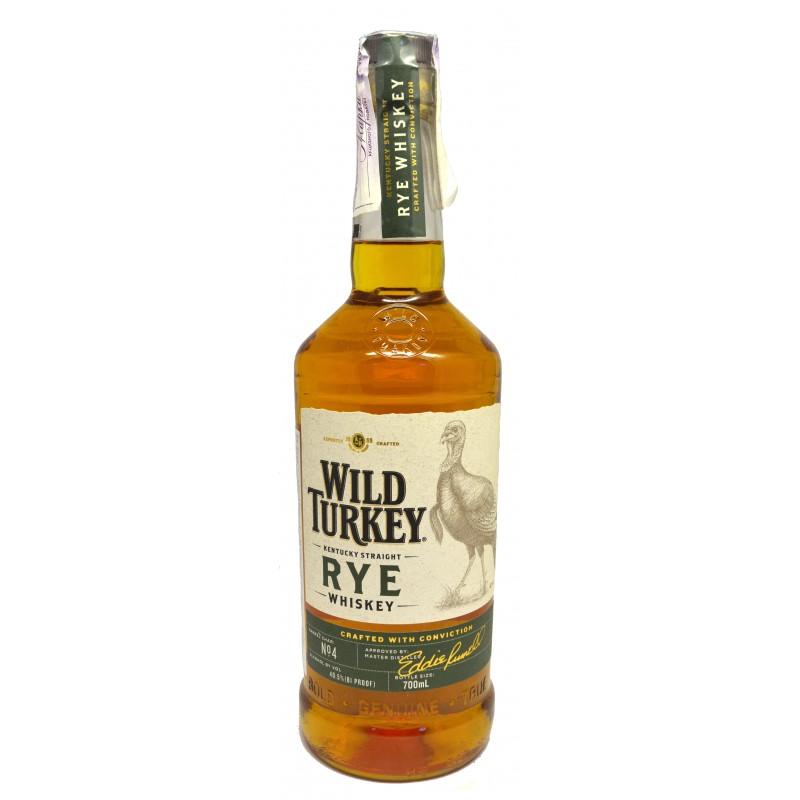 Купить Бурбон WILD TURKEY RYE 0.7л