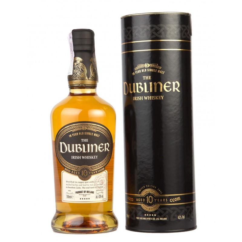 Купить Виски Dubliner 10yo в тубусе 0,7л