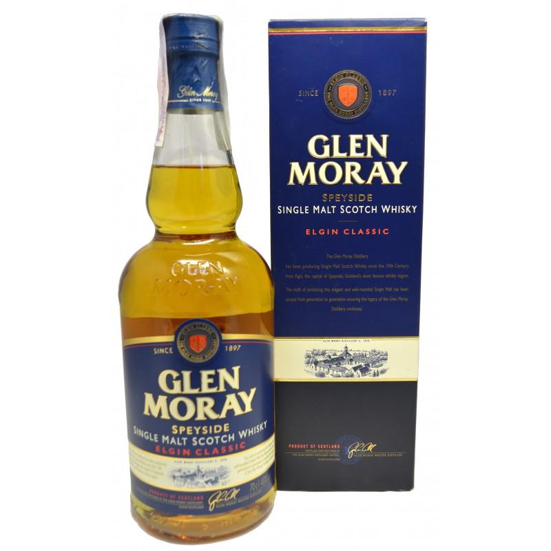 Купить Виски Glen Moray Classic 0,7л в коробке