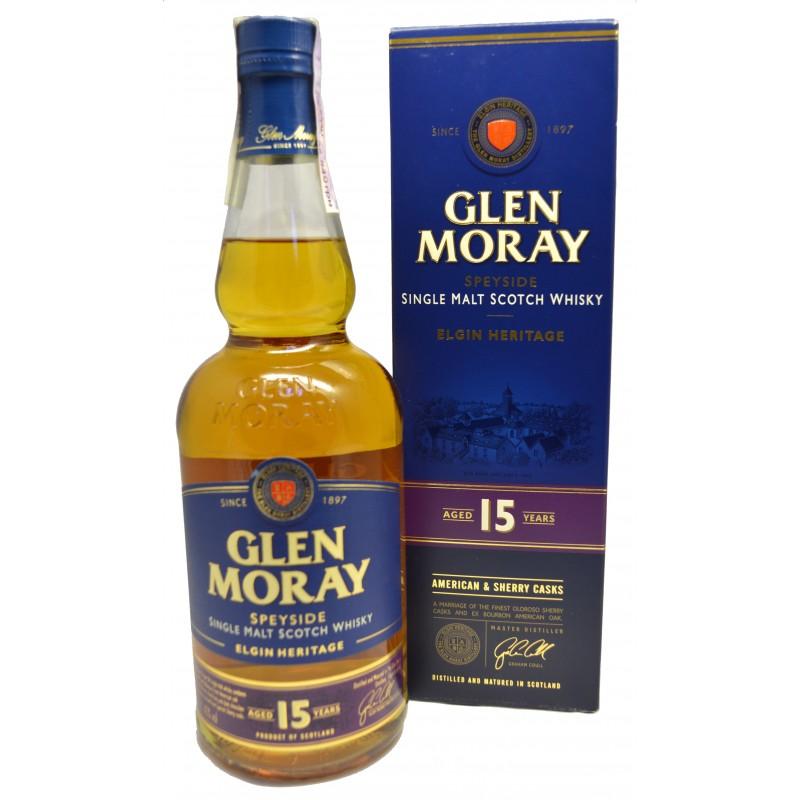 Купити Виски Glen Moray 0,7л 15yo в коробке