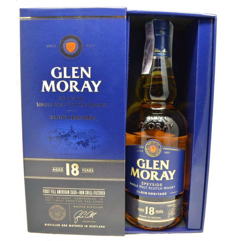 Купити Віскі Glen Moray 0,7л 18yo в коробці