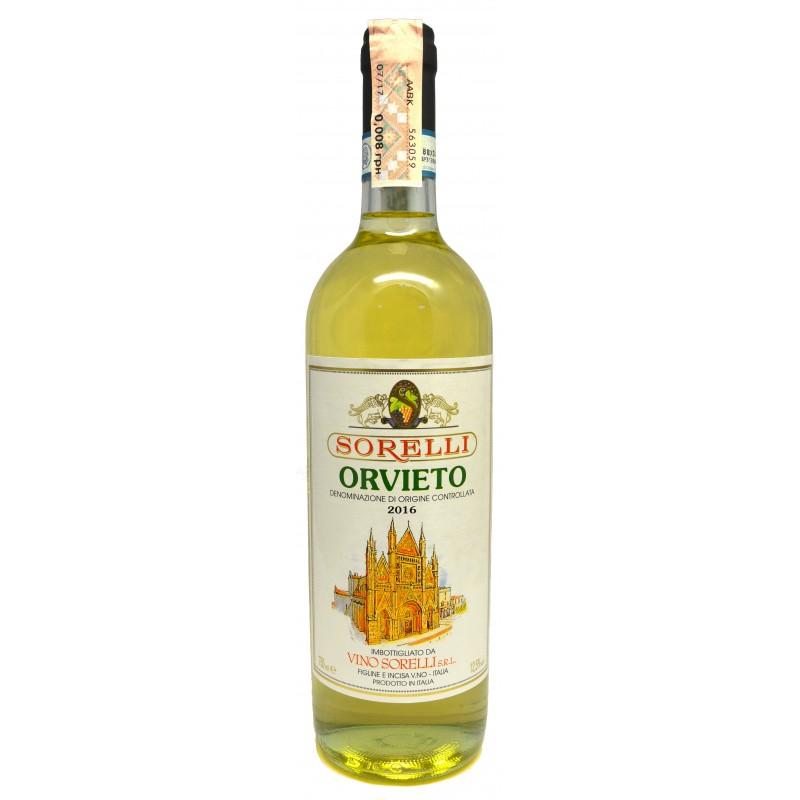 Купити Вино Orvieto Sorelli DOC біле сухе