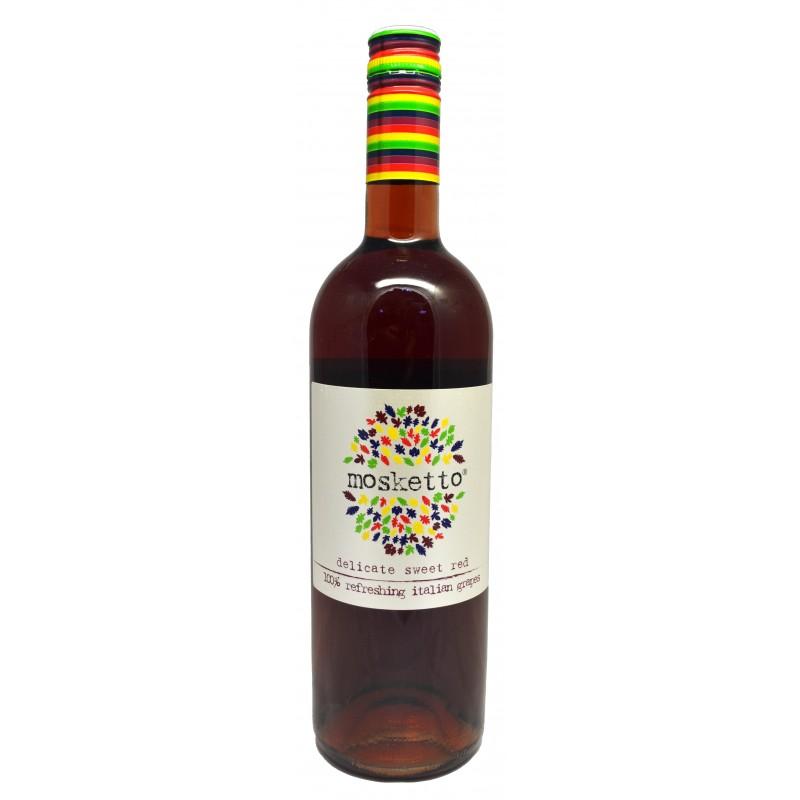 Купити Вино Mosketto Roso червоне напівсолодке