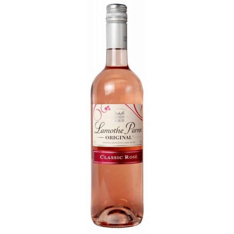 Купить Вино Lamothe Parrot Rose розовое полусладкое