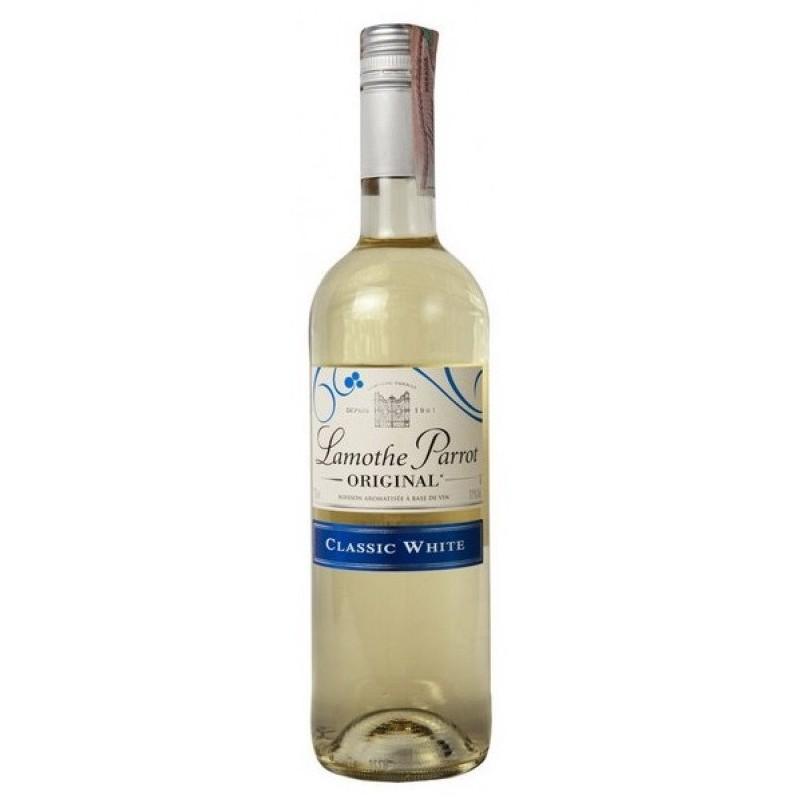 Купить Вино Lamothe Parrot Blanc белое полусладкое