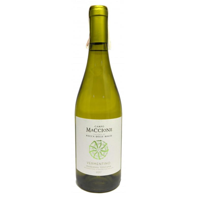 Купить Вино Vermentino Campomaccione DOC белое сухое Rocca Delle Macie