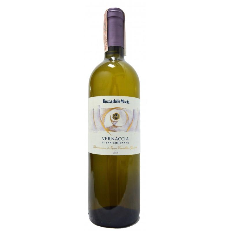 Купить Вино Vernaccia Di S. Gimignano DOCG белое сухое Rocca Delle Macie