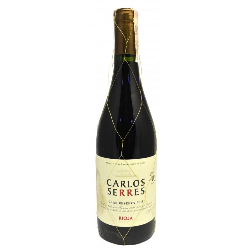 Купить Вино Carlos Serres Gran Reserva красное сухое
