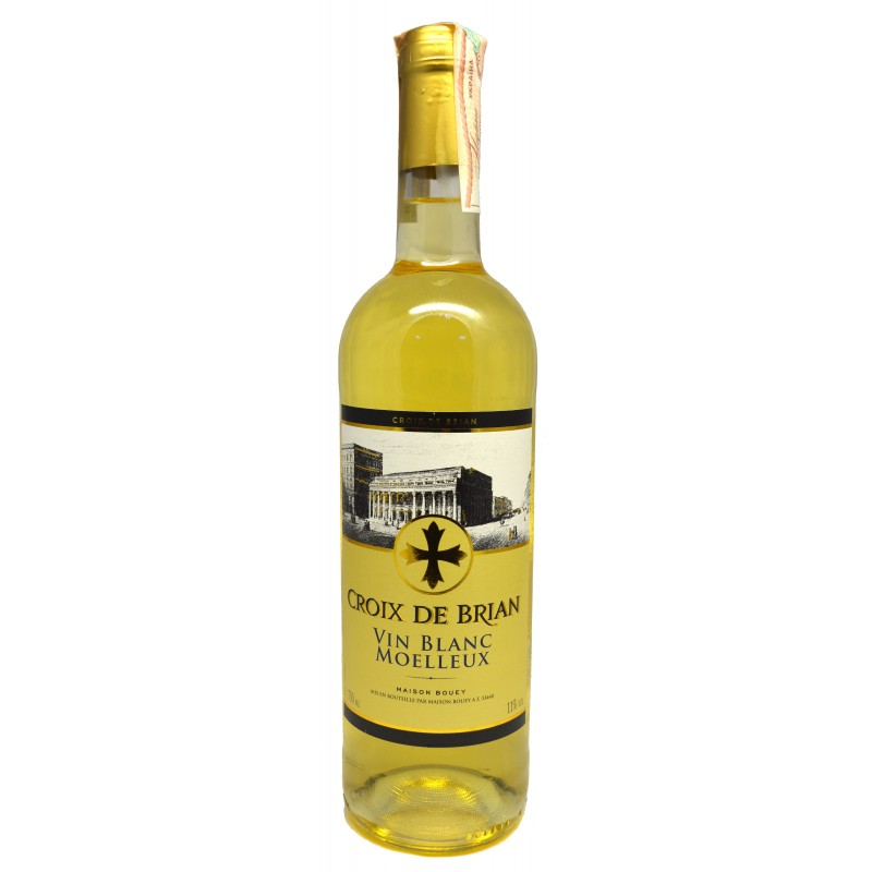 Купить Вино Croix de Brian Blanc Moelleux белое сухое
