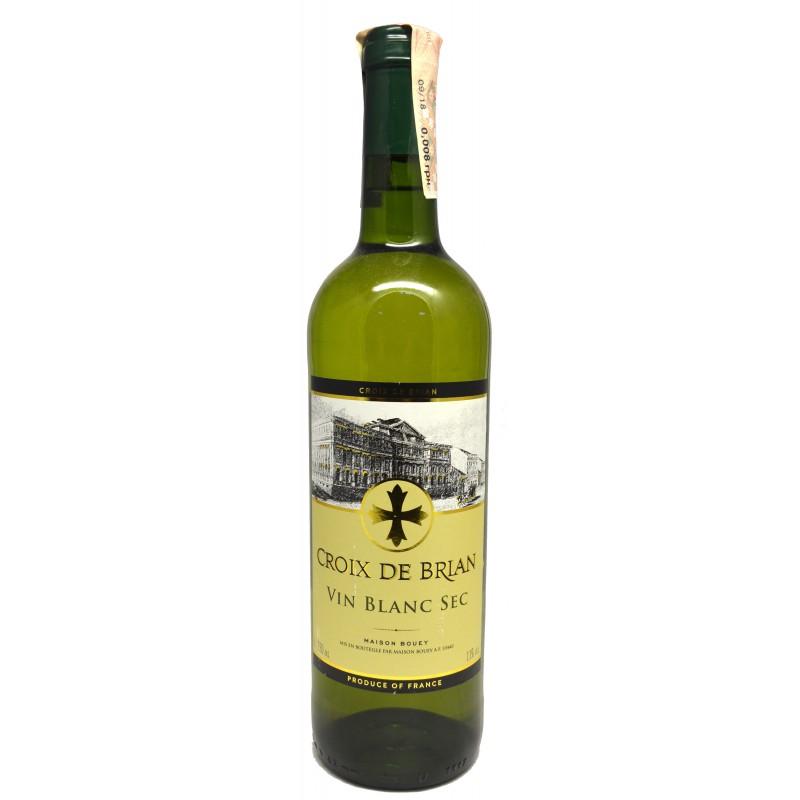 Купить Вино Croix de Brian Blanc Sec белое сухое